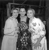 Nina Vyroubova, Colette Marchand et Jacqueline Moreau